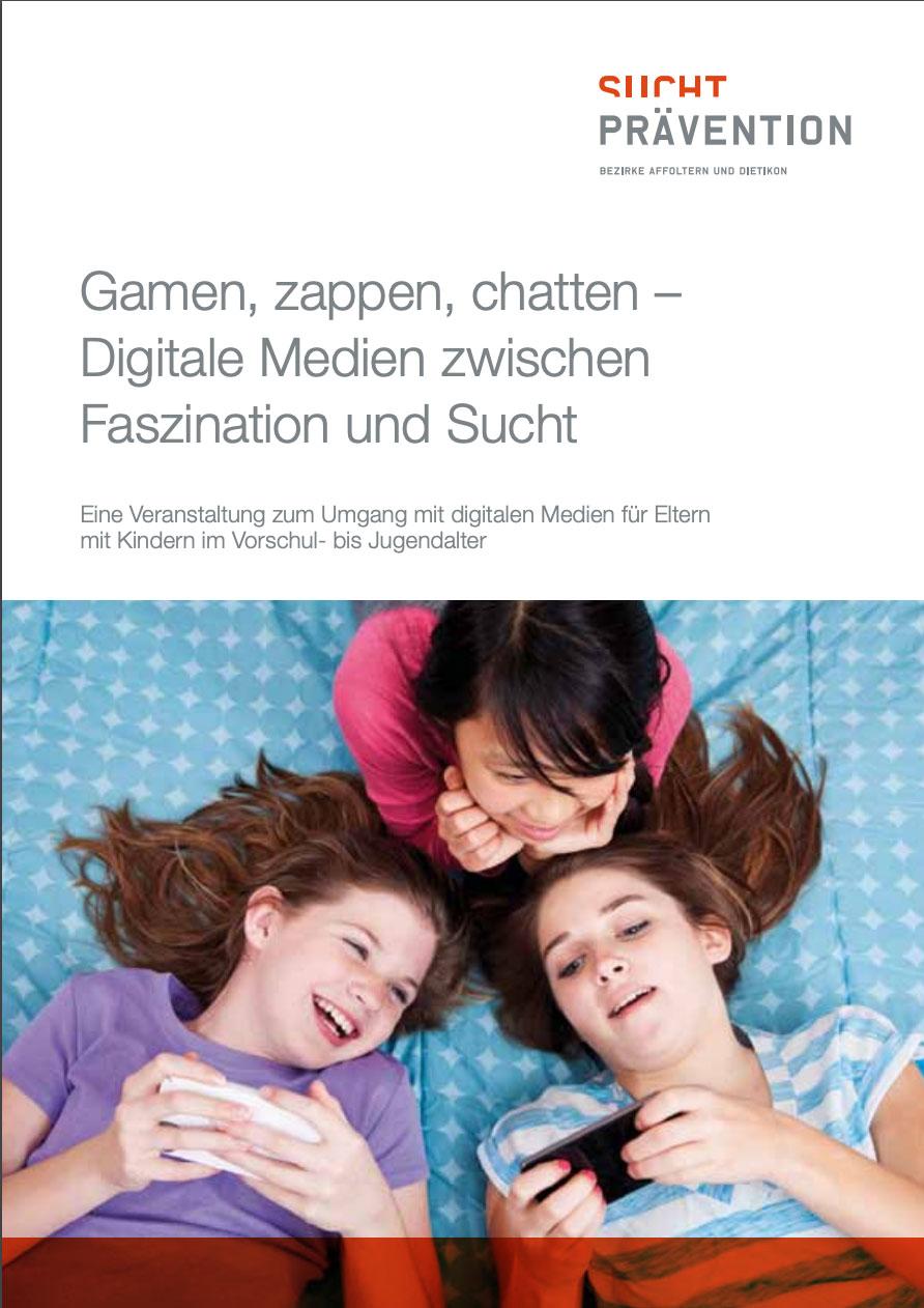 Gamen, zappen, chatten – digitale Medien zwischen Faszination und Sucht