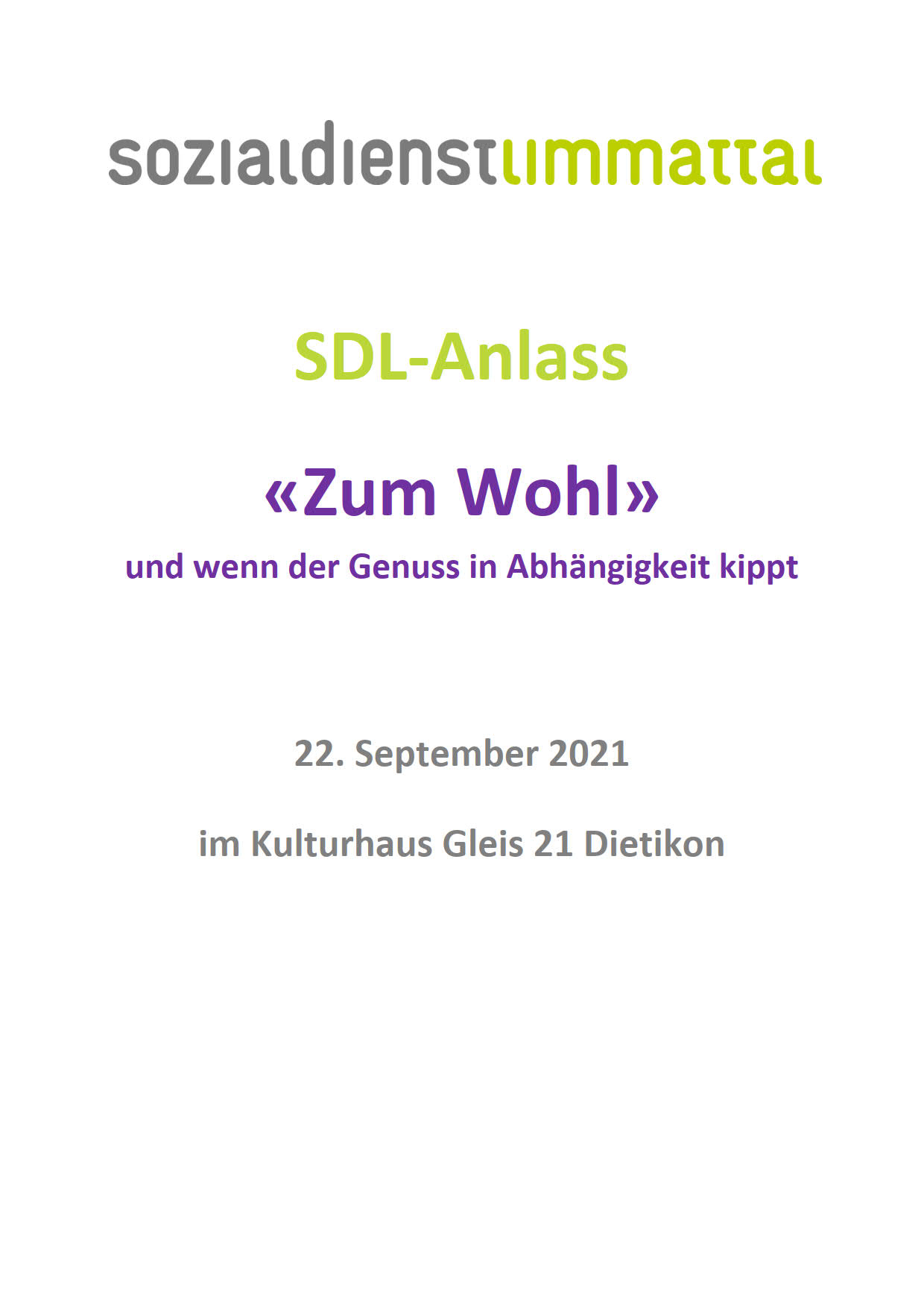 SDL-Anlass